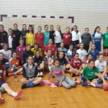 Тренажни центар за девојчице у Ваљеву
