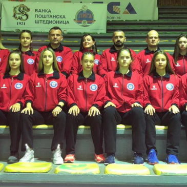 Селекција девојака 2002/2003 на Интернационалном турниру Никшић 2018