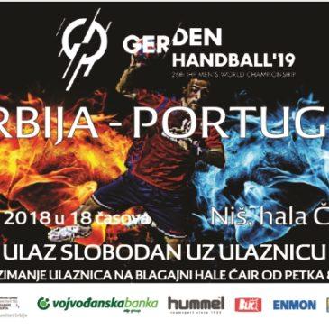 Србија – Португал у Нишу, 10.06.2018 у 18.00 часова