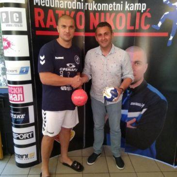"""Poseta međunarodnom rukometnom kampu """"Ratko Nikolić"""""""