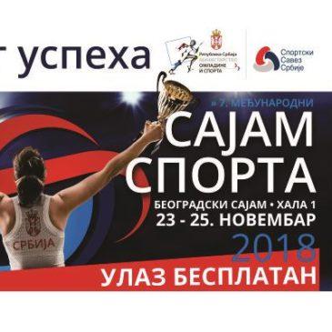 Посетите РСС на сајму спорта