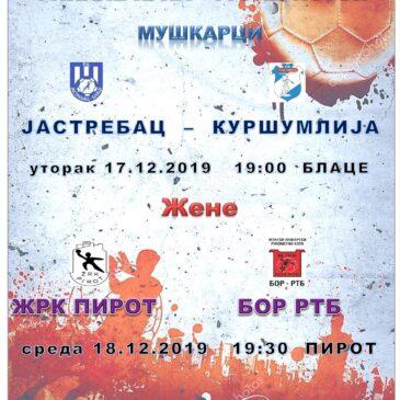 КУП ИСТОК – Финалне утакмице у Блацу и Пироту